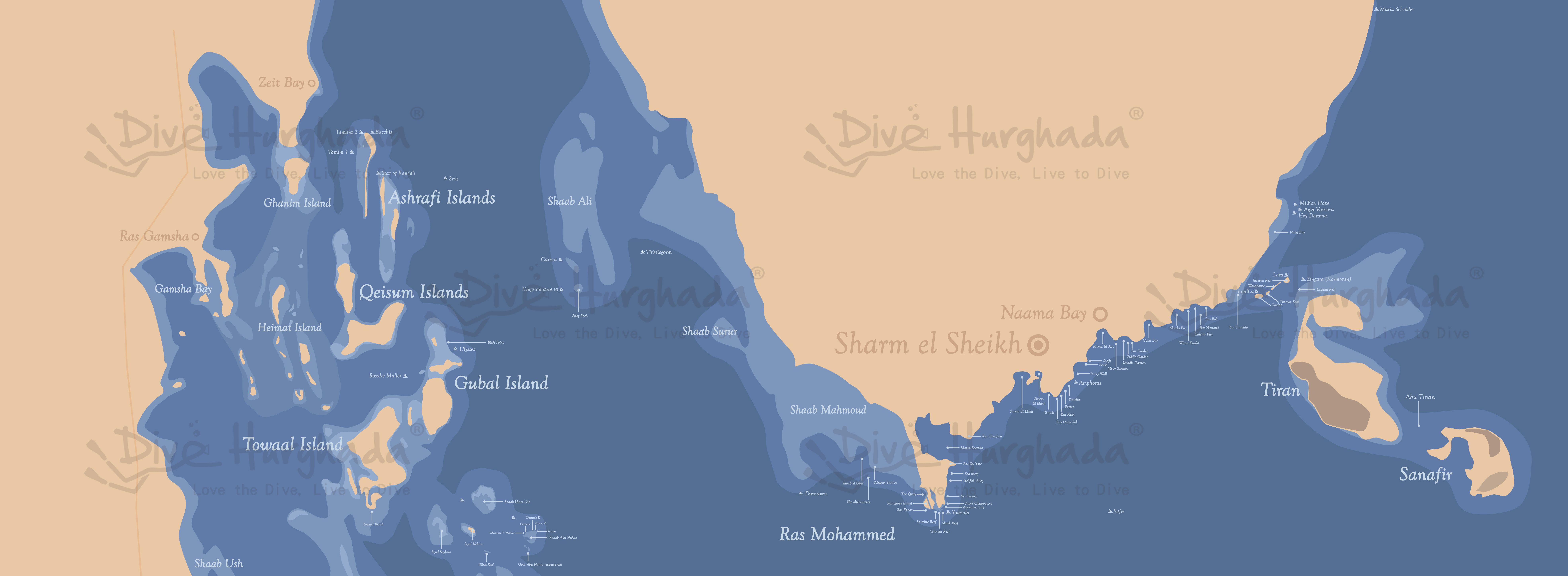 Sharm El Sheikh Divesites and wrecks